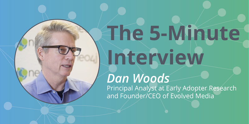 Check out this 5-minute interview with Dan Woods on enterprise graphs.
