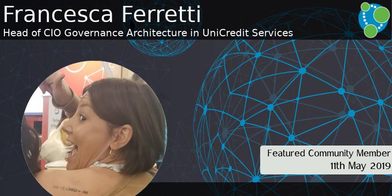 Francesca Ferretti - This Week's Featured Community Member