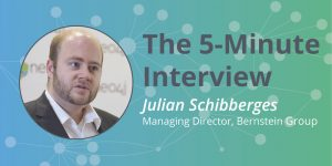 Check out this 5-minute interview with Julian Schibberges of Bernstein Group.
