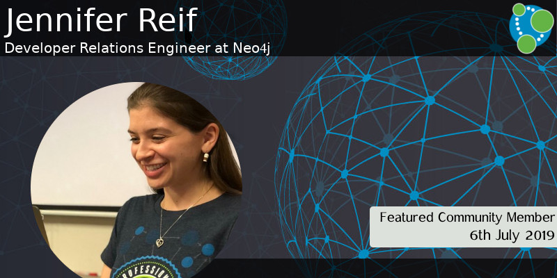 Jennifer Reif - This Week's Featured Community Member