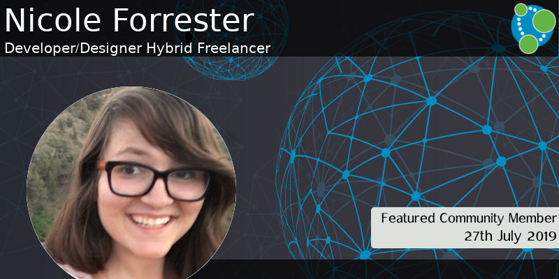 Nicole Forrester - This Week's Featured Community Member