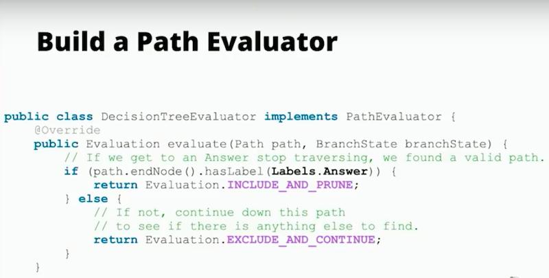 Build a path evaluator
