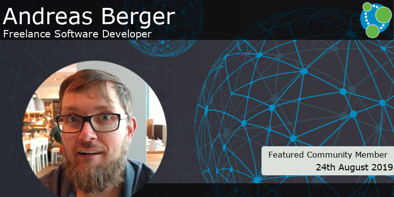 Andreas Berger - This Week's Featured Community Member