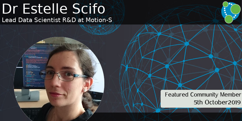 Estelle Scifo - This Week's Featured Community Member