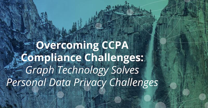 Learn how graph technology helps you overcome CCPA challenges.