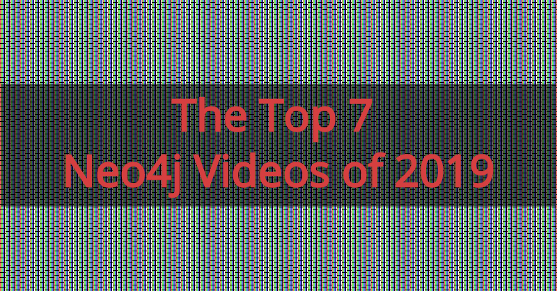 You don't want to miss these seven videos highlighting major Neo4j moments from the past year.