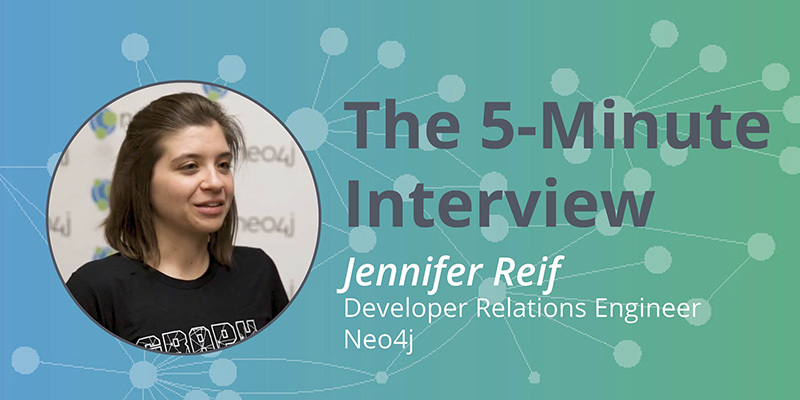 Check out this 5-minute interview with Jennifer Reif.