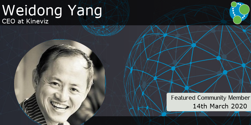 Weidong Yang - This Week's Featured Community Member
