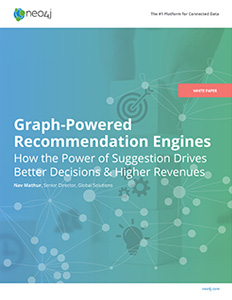 Discover the benefits of real-time recommendation engines with graph technology for your enterprise.