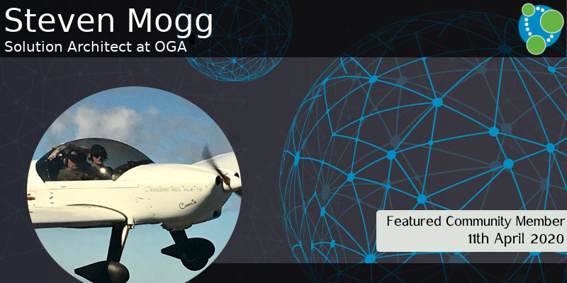 Steven Mogg - This Week's Featured Community Member