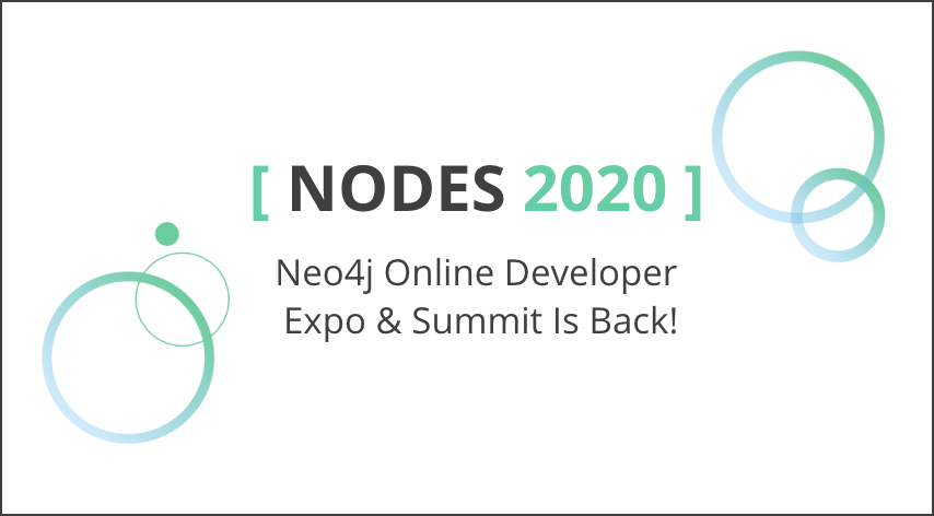 Save your spot for NODES 2020, coming this October.