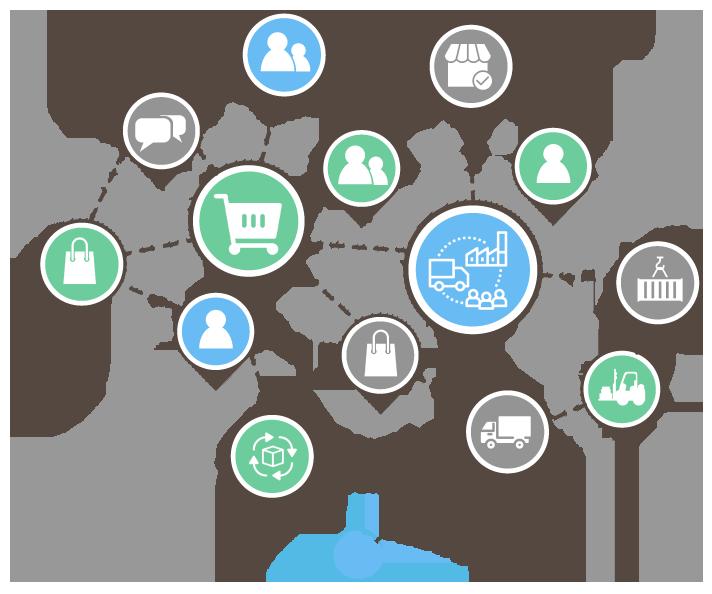 Supply Chain Management Illustration