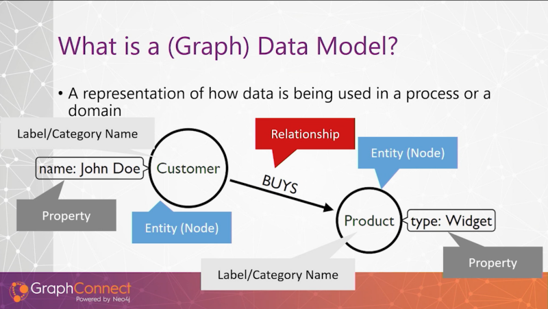 What is a graph data model