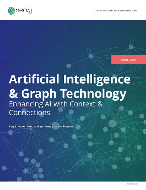Download the White Paper: Artificial Intelligence & Graph Technology