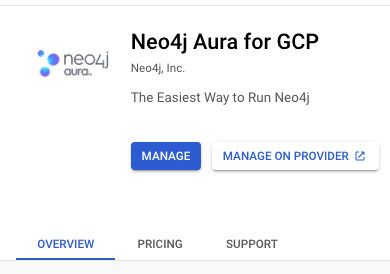 How Aura on GCP works.