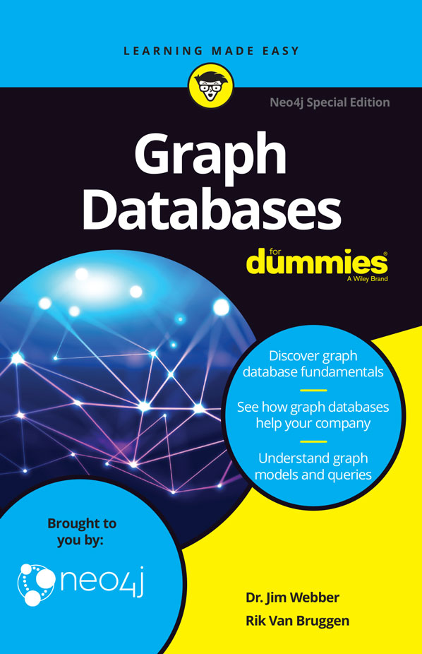 Graph Databases For Dummies cover