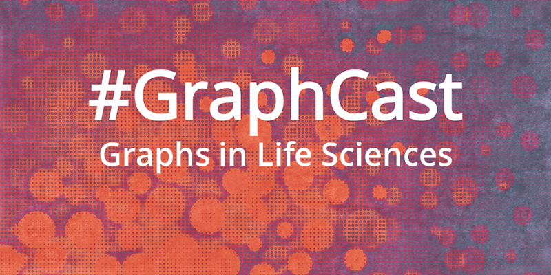 Check out this video talking about graphs in life sciences.