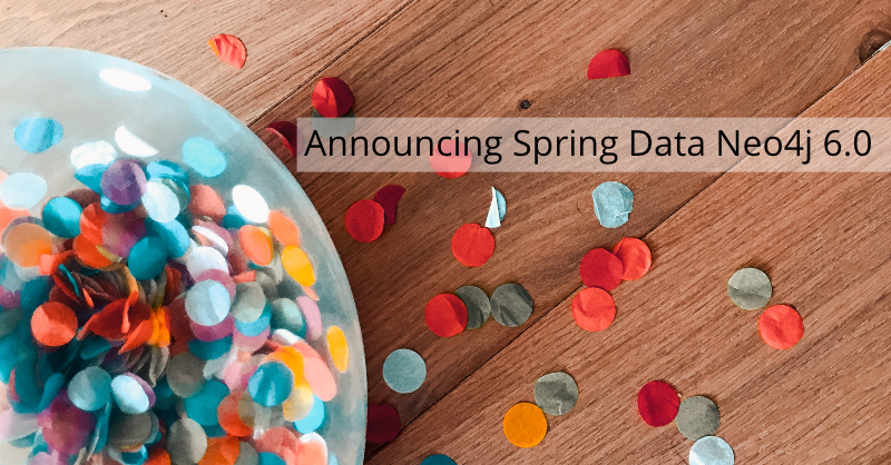 Learn what's new in Spring Data Neo4j 6.0