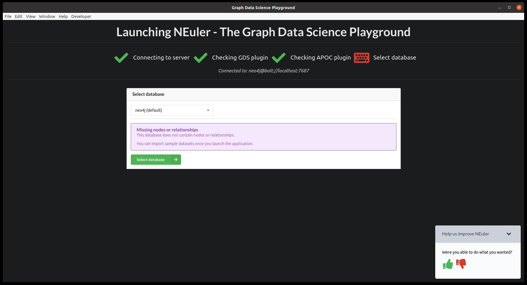 gds select database