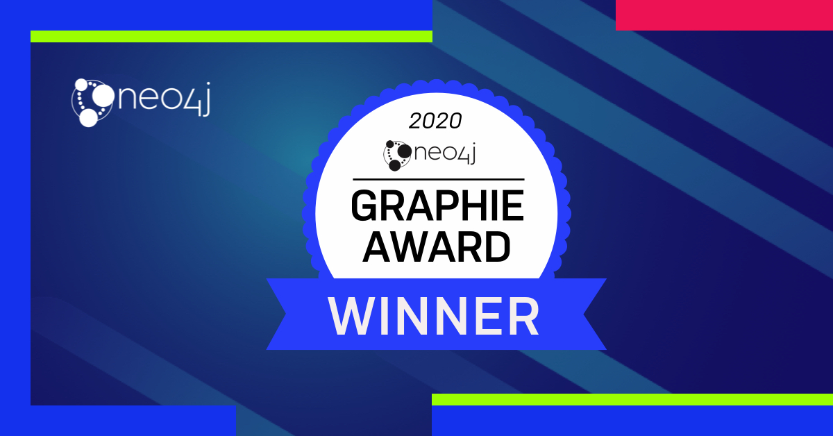 2020 Neo4j Graphie Award Winners