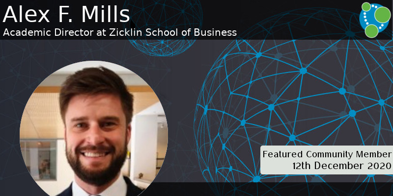 Alex F. Mills - This Week's Featured Community Member
