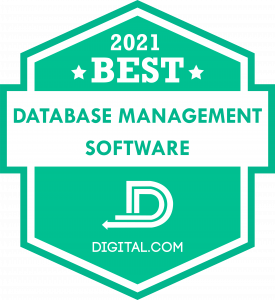Digital.com Names Best Database Management Software of 2021