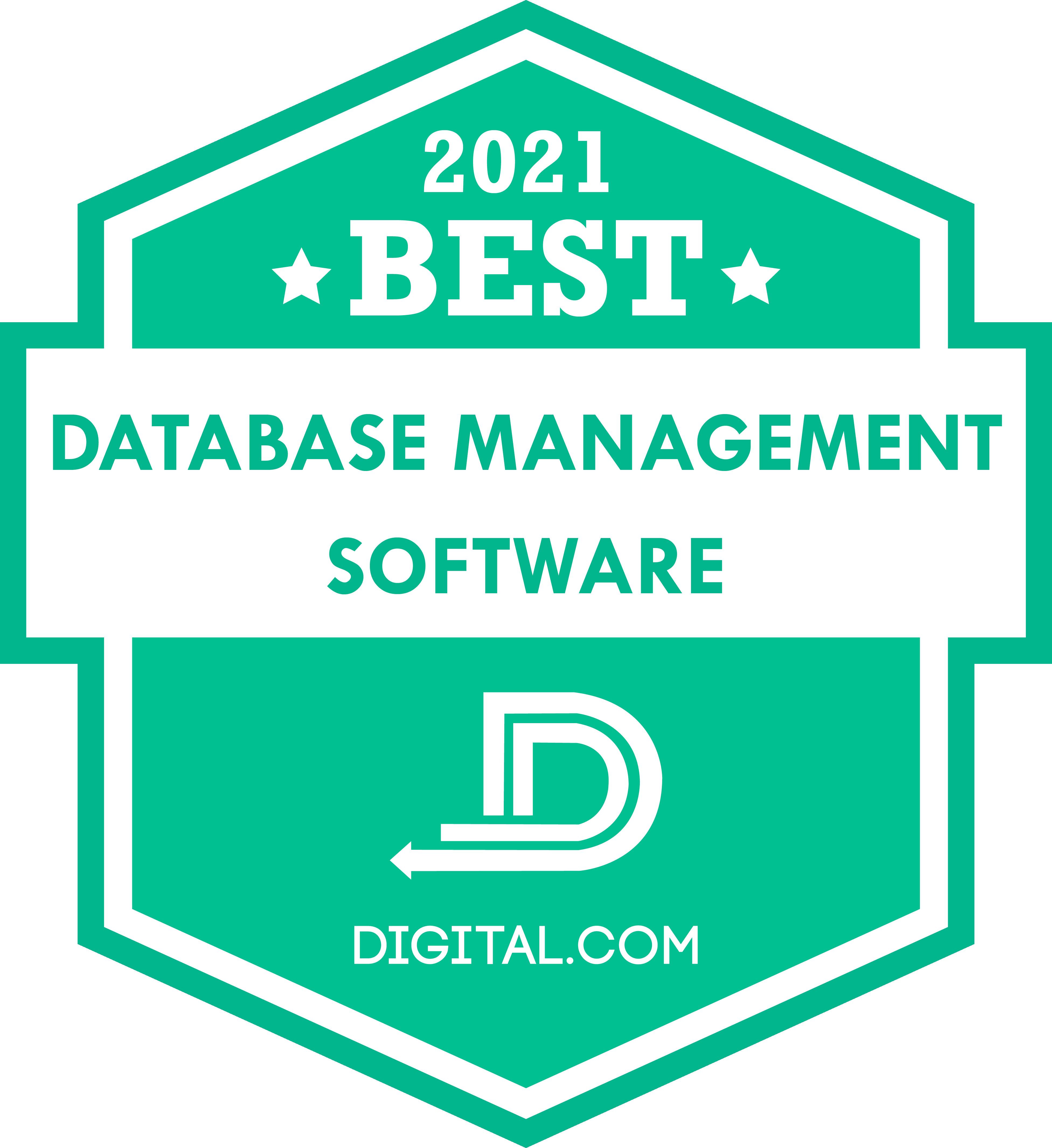 Digital.com Names Best Database Management Software of 2021
