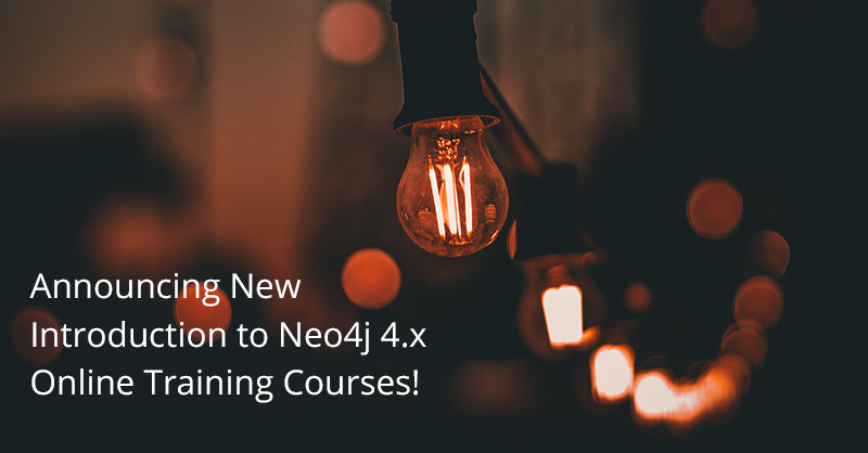 Check out the latest free online training courses to master Neo4j 4.x and become a certified graph database professional.