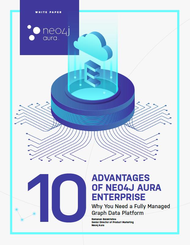 Discover 10 business-critical advantages of Neo4j Aura Enterprise.