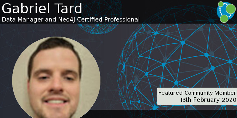 Gabriel Tard - This Week's Featured Community Member