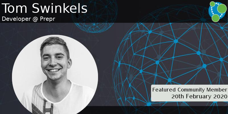 Tom Swinkels - This Week's Featured Community Member
