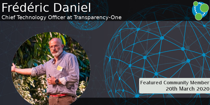 Frédéric Daniel - This Week's Featured Community Member