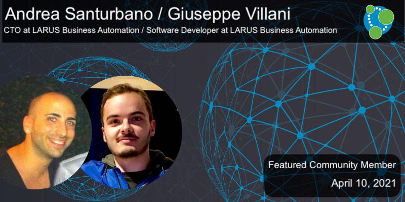 Andrea Santurbano, Giuseppe Villani - This Week's Featured Community Member