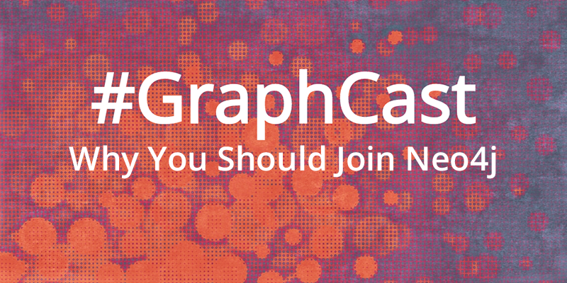 Catch this week's GraphCast with Johannes, a Neo4j cloud engineer who shares why YOU should come join our team!