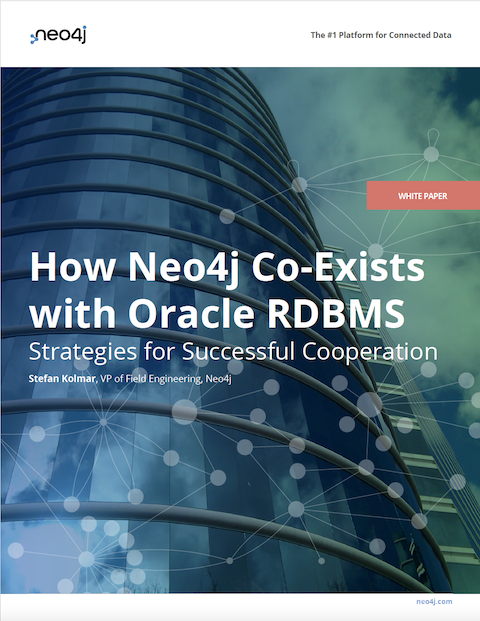 Download this white paper: How Neo4j Co-exists with Oracle RDBMS
