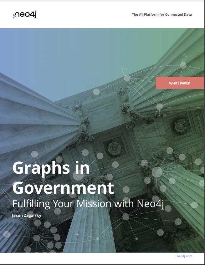 Read this white paper on using graph technology for mission success at your government agency.