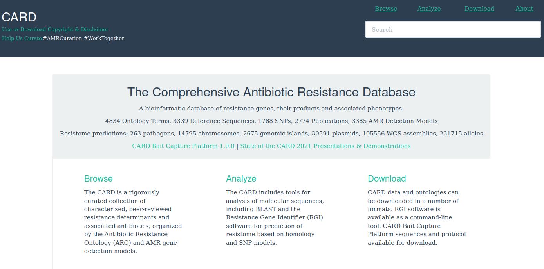 card antibiotic resistance
