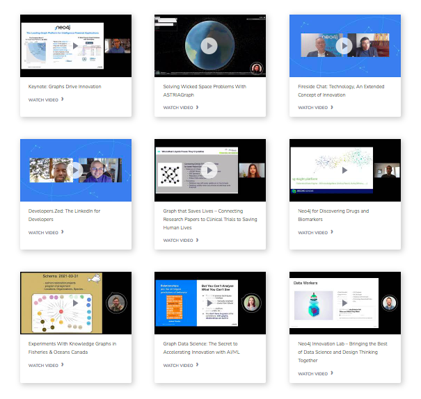 Accelerating Innovation with Graphs Video Archive