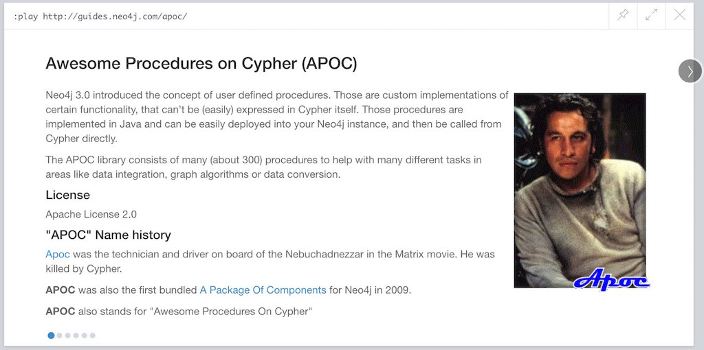 browser guide apoc