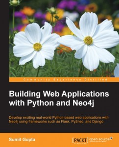 Building Web Applications with Python and Neo4j Book by Sumit Gupta