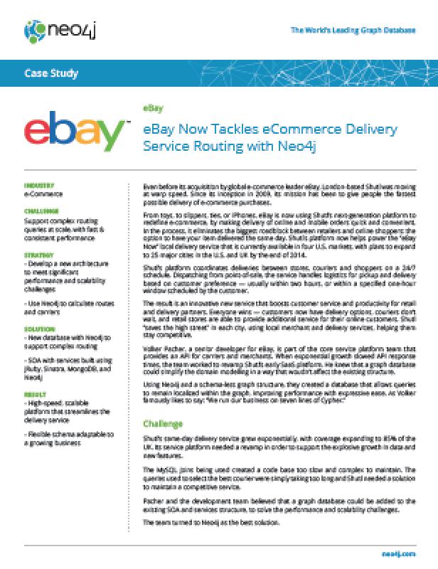 Ebay Neo4j Graph Database Platform