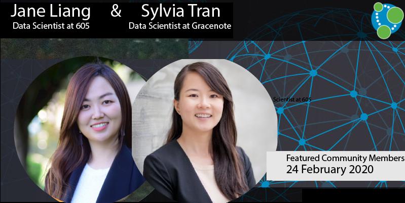 Sylvia Tran, Jane Liang - This Week's Featured Community Member