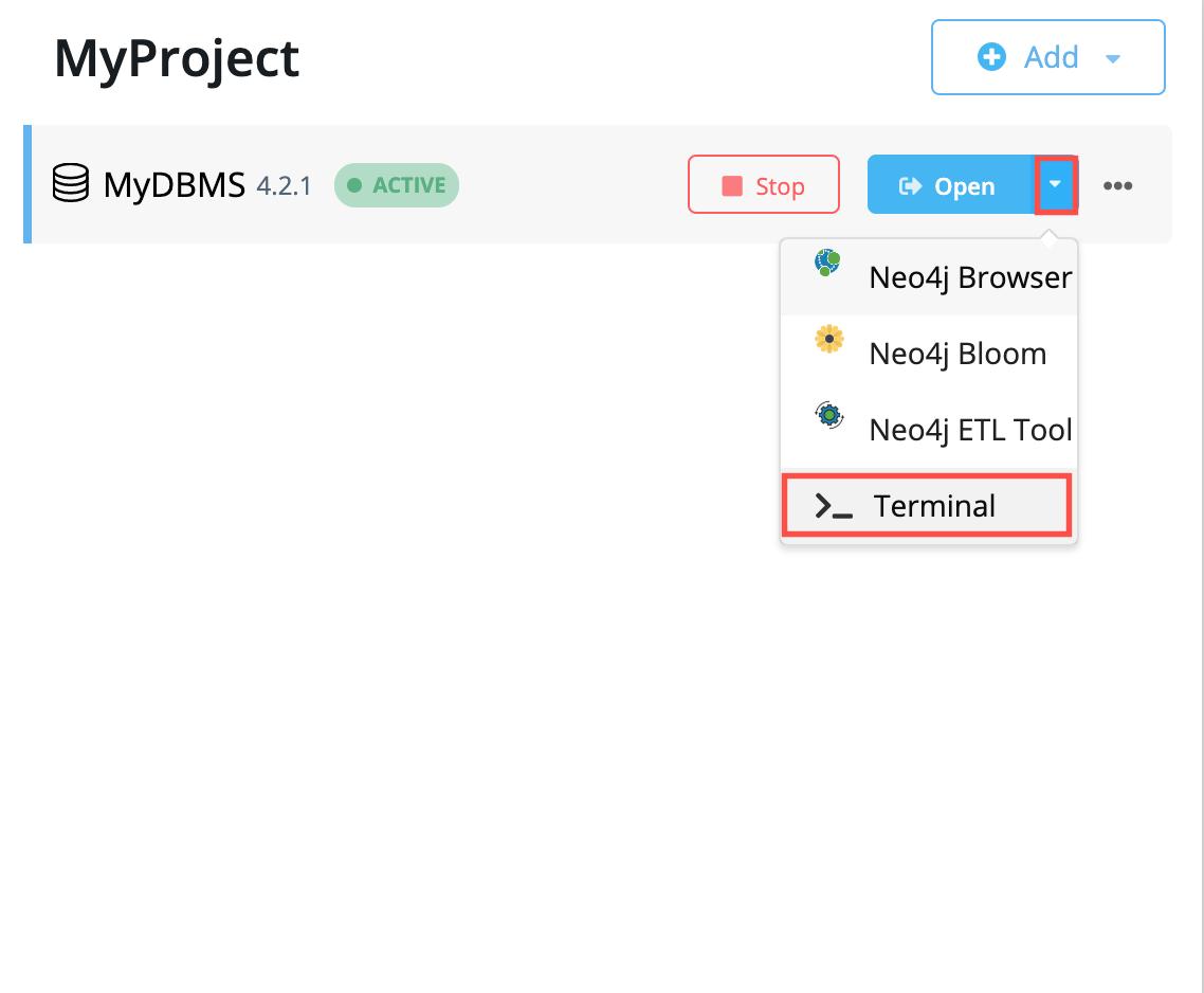generic open terminal