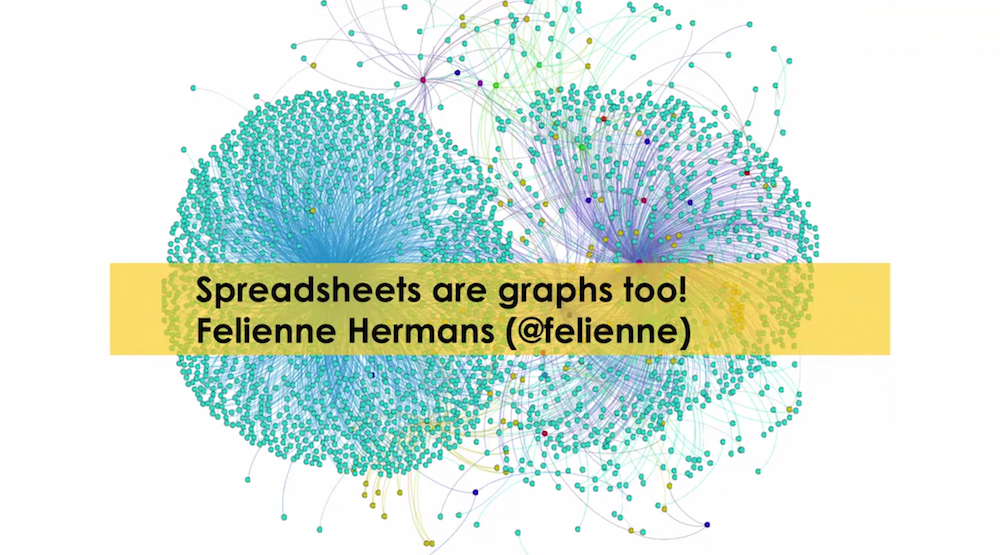 Listen to Felienne Hermans' Talk at GraphConnect Europe on Why Spreadsheets Are Graphs Too